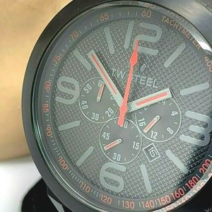 TW Steel TW903 Men's Watch Black Red Chronograph